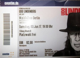 Ticket vom 3. Juni
