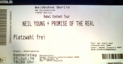 21. Juli 2016 Neil YoungRebel Content Tour